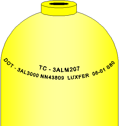 Scuba Cylinder Markings